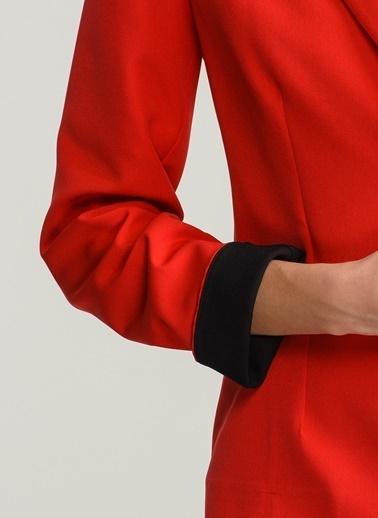 Kontrast Renkli Ceket-People By Fabrika